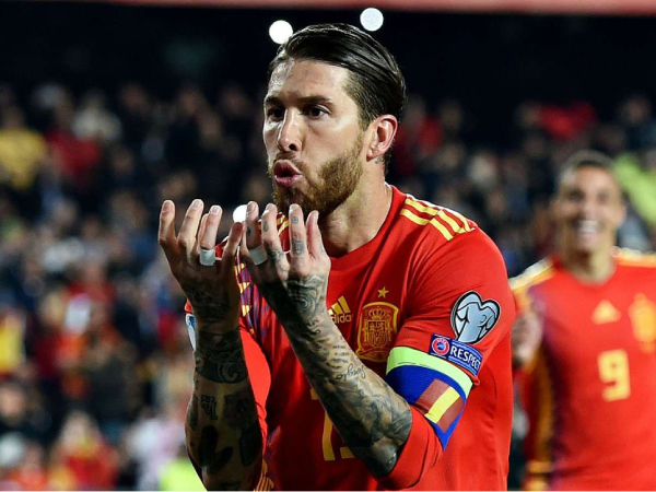 Ramos sút Panenka trên chấm 11m giúp Tây Ban Nha giành chiến thắng