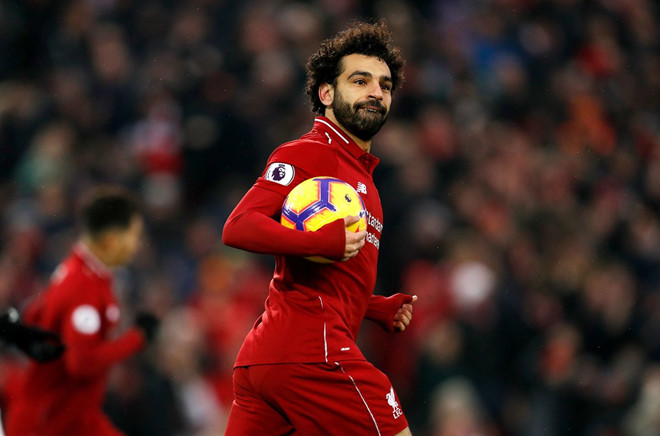 Salah lập công giúp Liverpool trở lại ngôi đầu