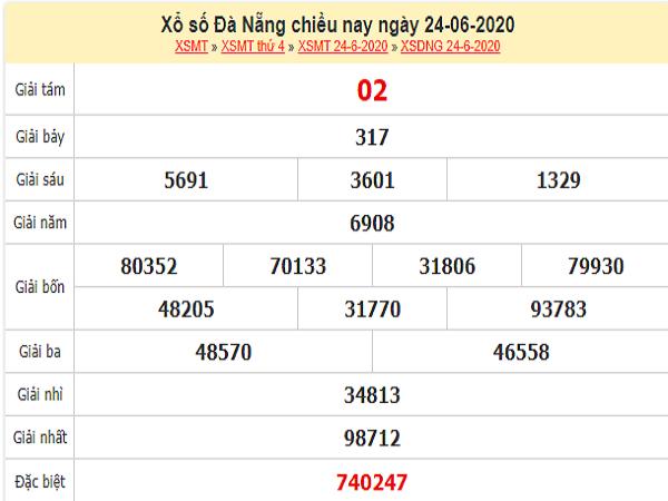 Bảng KQXSDN-Soi cầu xổ số đà nẵng ngày 27/06 hôm nay