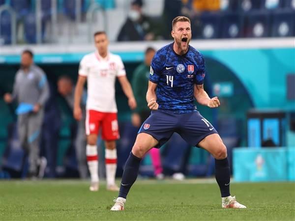 Nhận định tỷ lệ Slovakia vs Tây Ban Nha (23h00 ngày 23/6)